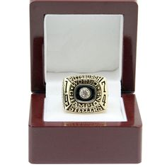 Pittsburgh Steelers 1974 NFL Super Bowl IX Championship Ring - Football