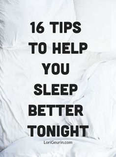 Do you have trouble falling asleep or staying asleep at night? This article gives you 16 quick tips to help you sleep better tonight. Help Falling Asleep, Trouble Falling Asleep, How To Fall Asleep, How To Sleep Faster, How To Get Better, How To Get Sleep, Better Life, Sleep Help, Sleep Better