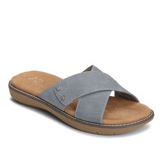 A2 by Aerosoles Cool Breeze Women's Slide Sandals, Size: medium (6.5), Blue (Navy)