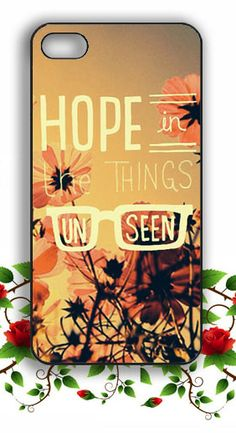 Hope in the Things Unseen Iphone Case