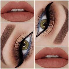 #EyelashExtensionsAftercare Makeup Eyeshadow Palette, Eyeshadow Tips, Eye Palette, White Eyeshadow, Eyeshadow Base, Fall Eyeshadow Looks, Fall Makeup Looks, Autumn Makeup, Eye Makeup Steps