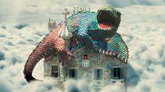 A building full of fantasy with dragons forming part of the roof top. Ap Spanish, Spanish Culture, Riga, Casa Gaudi, Antonio Gaudi, Barcelona Catalonia, Teaching Spanish, Lovers Art, Videos