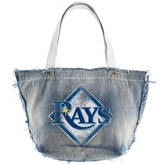 Tampa Bay Rays Vintage Tote Bag by Little Earth.