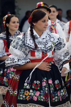 Moravia, Czech Republic                                                                                                                                                      More Prague Czech Republic, Folk Costume, People Of The World, Beautiful Patterns, Traditional Dresses, Goddess Art, Moon Goddess, Roman Mythology, Greek Mythology