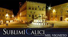 Sublimi Calici nel Vigneto: a pochi chilometri da Perugia, luogo di grande fascino e suggestione.