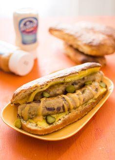 Recette de hot-dog végétalien, recette de hot-dog vegan ! | StellA Cuisine !!! Recettes faciles, Recettes pas chères, Recettes rapides