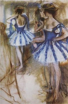 Two dancers  - Zinaida Serebriakova 1924