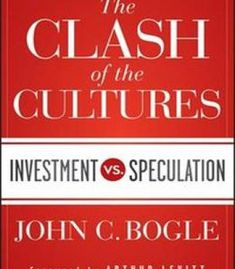 The Clash Of The Cultures: Investment Vs. Speculation PDF