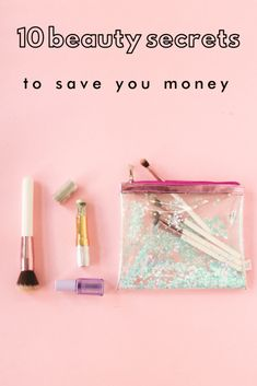 Although many women spend a fortune on their beauty routine, you don't have to! Learn some brilliant beauty secrets to save money. Beauty Secrets, Diy Beauty, 1940s Makeup, Makeup Counter, Green Tea Bags, Pin Up Makeup, High End Products, 1940s Hairstyles, Even Out Skin Tone