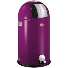 Wesco Kickboy Bin - Purple