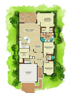 Isabella floor plan