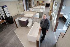 New bathroom & tile showroom at Henley branch - Gibbs & Dandy