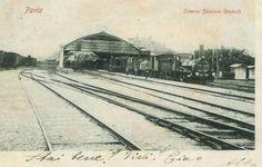 La stazione ferroviaria di Pavia a fine 800.