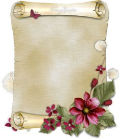 Pergamena by DanyGraphic Borders For Paper, Borders And Frames, Decoupage Vintage, Decoupage Paper, Flower Border Clipart, Bow Wallpaper, Boarder Designs, Stationary Printable, Shabby Chic Wall Decor