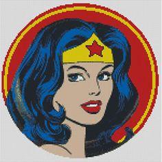 Cross-stitch-chart-pattern-Wonder-Woman-Wonderwoman