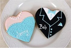 heart shaped prom cookies - Google Search
