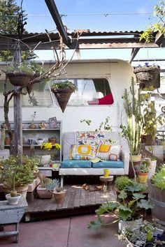 Boho Outdoor Living | Bohemian Style