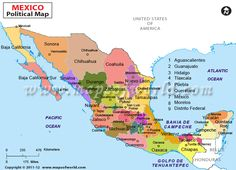 Buy Asia Political Map Online Asia - Mexico political map