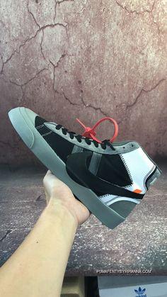 9607b156fedc Virgil Abloh s Off-White X Nike Blazer Studio Mid Wolf Grey Pure  Platinum-Black-Cool Grey Top Deals