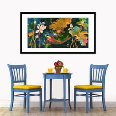 ACRYLIC Painting Giclee Print Illustration Canvas by sidorovart