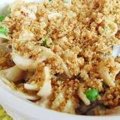Transform your leftover turkey into a creamy and filling turkey tetrazzini with plenty of vegetables and seasoning for a tasty weeknight meal.