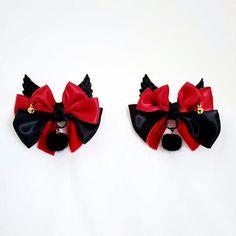 Steampunk Hair bow Kitten Play Ddlg Bronze Hair Bow Pet play