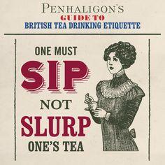 Penhaligon's guide to tea drinking