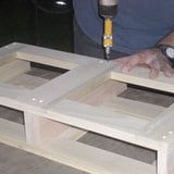 TIP: For best results when mimicking the look of another wood with poplar, be sure to test your stain for the right color on scrap cutoffs of the same poplar boards you used in the project. Remember to apply a couple of coats of pre-stain wood conditioner to the cutoffs before applying your test stains.