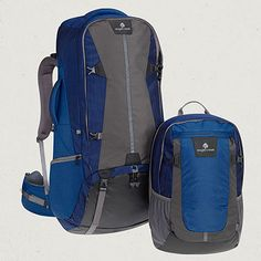 Eagle Creek Official Store, Rincon 90L, night sky stratus, Backpacks & Travel Packs, EC-10084