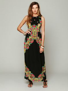 Shakuhachi Gypsy Maxi Printed Dress at Free People Clothing Boutique