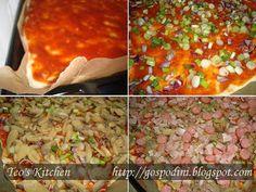 Pizza cu blat super pufos | Retete usoare & retete ilustrate