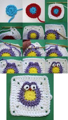 Hoy os presento fantásticos búhos multicolores hechos a crochet, muy faciles de hacer! Como ya se habrán dado cuenta, en el blog les estoy haciendo recopilaciones de patrones, gráficos y paso a