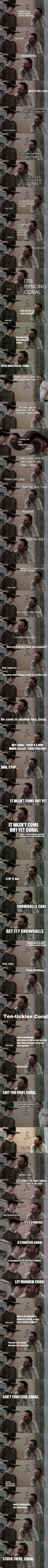 15 of the Best or maybe the Most Terrible Rick Grimes Dad Jokes Ever