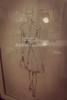 SIMPLE. Atelier Couture Simple, Movie Posters, Home Decor, Art, Art Background, Decoration Home, Film Poster, Room Decor, Popcorn Posters