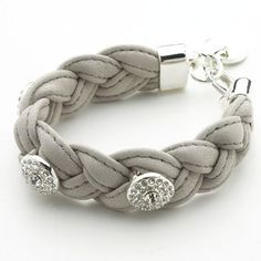 Nora Norway Shawn Diamond Style Bracelet - Dark Brown