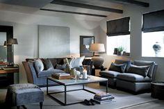 Klassisk grå stue