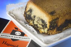 salt liquorice tiger cake (marbled cake)