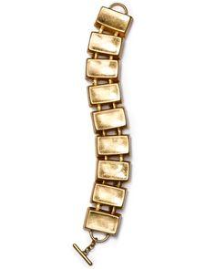 Robert Lee Morris Soho Link Bracelet