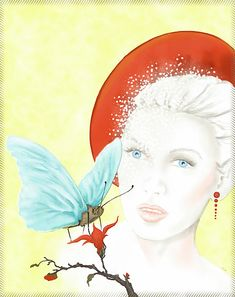 Butterfly Lady Greeting Card for Sale by Kirsi Korhonen White Envelopes, Fine Art America, Greeting Cards, Butterfly, Display, Disney Princess, Disney Characters, Lady, Drawings