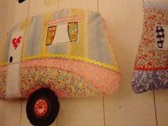 Caravan cushion. Mollie makes 42