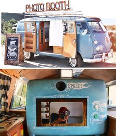 San Diego Photo Booth Volkswagon Bus // Wedding Photo Booth