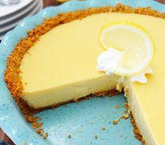 Lemon pie! Τέλεια επιλογή για ένα γλυκό πρωινό!