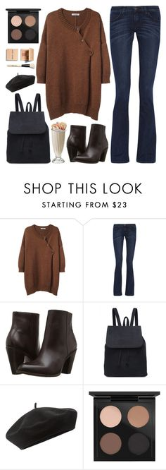 """First come, First served"" by sweet-jolly-looks ❤ liked on Polyvore featuring A Détacher, Current/Elliott, Frye, Accessorize, MAC Cosmetics, Bobbi Brown Cosmetics, Fall, casual, school and simple"