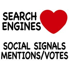 Get Mentions and Votes, because it's benefic for your SEO
