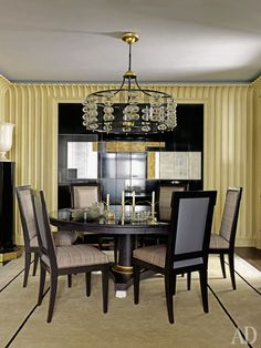 Парижский декоратор Жан-Луи Денио оформил для постоянных клиентов квартиру в Чикаго.