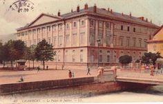 Palazzo di Giustizia a Chambéry - da una cartolina d'epoca