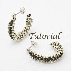 Beaded Earrings Tutorial Wireless. $5.00, via Etsy.