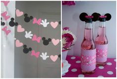 Ideas DIY para una fiesta temática de Minnie mouse