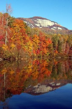 Ahh...this is just down the road from my parent's house....beautiful! Table Rock In Pickens County, South Carolina