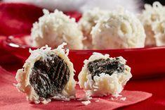 OREO Cookie Ball Snowballs Recipe